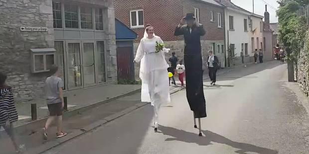 Le Goûter matrimonial reprend du poil de la bête à Ecaussinnes (VIDEO) - La DH