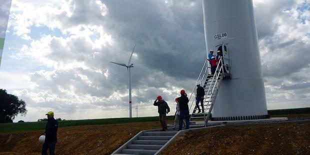 Hélécine : les éoliennes tournent à plein régime - La DH