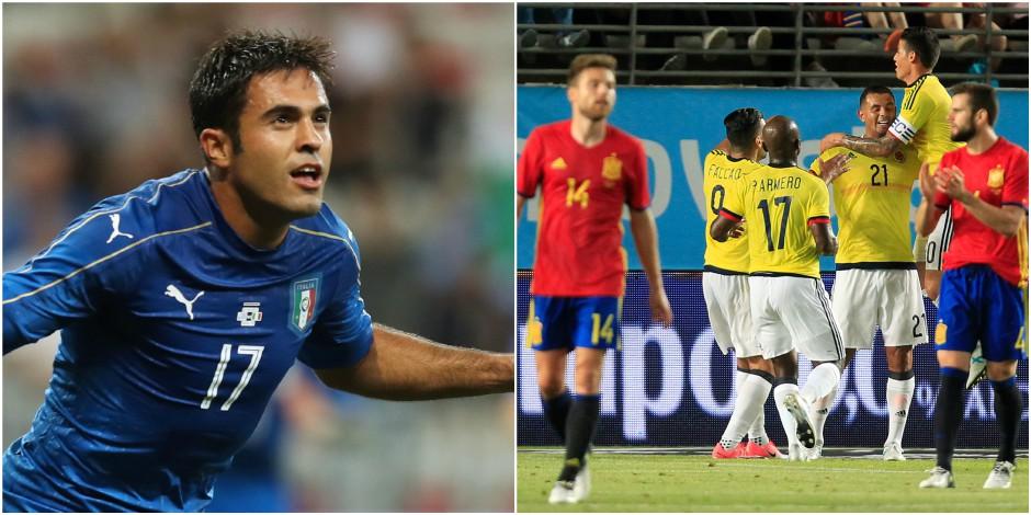 Amicaux: l'Italie déroule face à l'Uruguay, Morata sauve l'Espagne de Lopetegui contre la Colombie