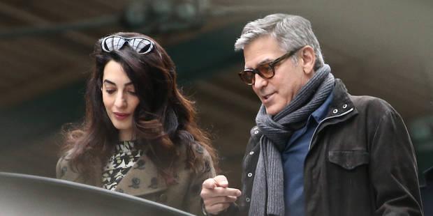 George et Amal Clooney: ce qui va changer avec l'arrivée des jumeaux - La DH