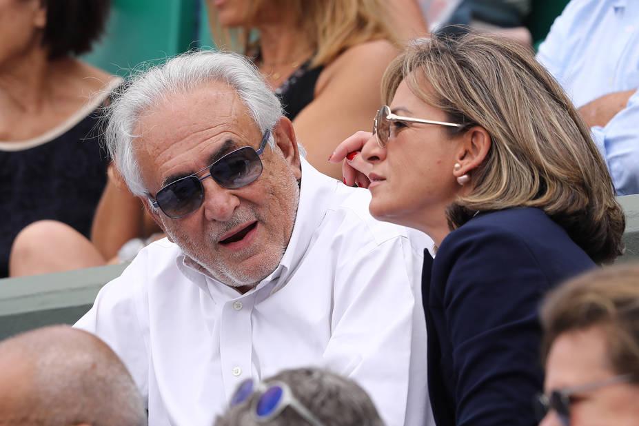 Dominique Strauss-Kahn (DSK) et sa compagne Myriam L'Aouffir