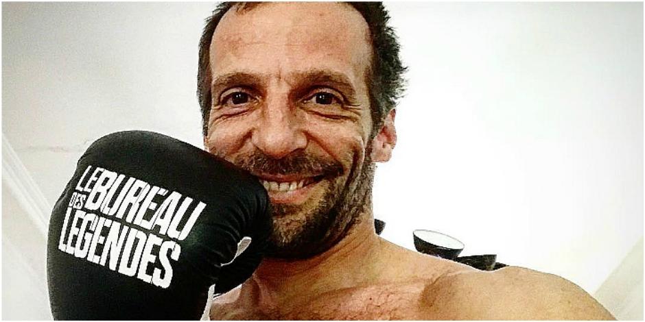 Mathieu Kassovitz monte sur le ring