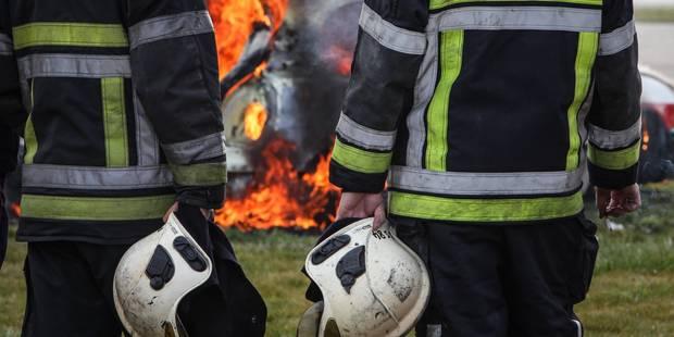 Tournai: Incendie dans un hangar de l'entreprise Dufour - La DH