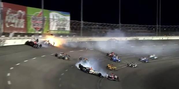 IndyCar: accidents spectaculaires lors du Grand Prix de Fort Worth au Texas (VIDEO) - La DH