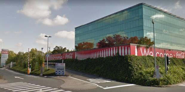 Entre 50 et 75 emplois supprimés chez Coca-Cola Services à Anderlecht - La DH