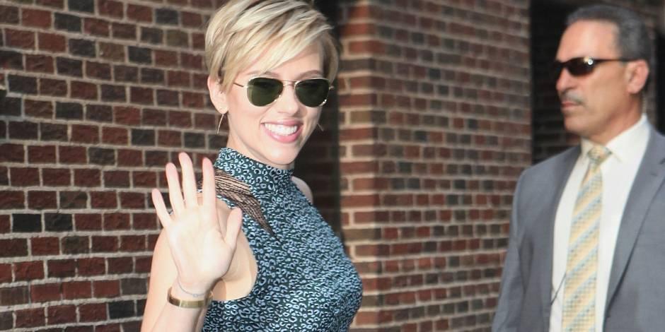 Scarlett Johansson surprise en charmante compagnie