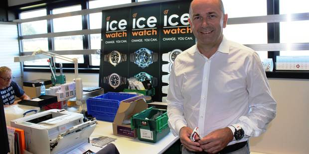 """Jean-Pierre Lutgen ne confirme pas son intention de vendre sa marque de montre: """"Ice-Watch cherche des partenaires"""" - La..."""