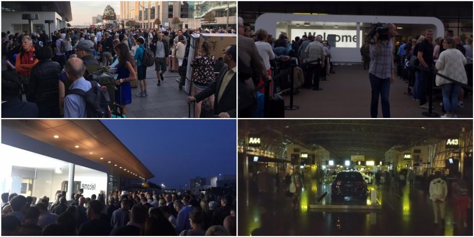 Pagaille à l'aéroport de Bruxelles après une panne de courant