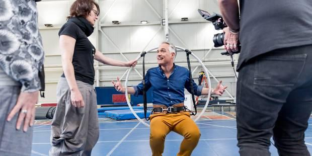 """Thomas Van Hamme a vécu une drôle d'aventure avec le Cirque du Soleil: """"Je n'ai pas la grâce de ces artistes"""" - La DH"""