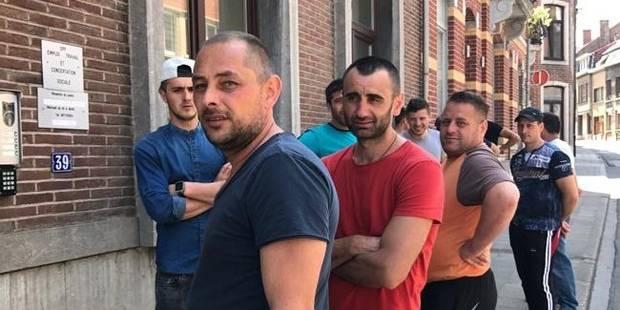 Louvain-la-Neuve : les travailleurs roumains à l'Inspection du travail - La DH