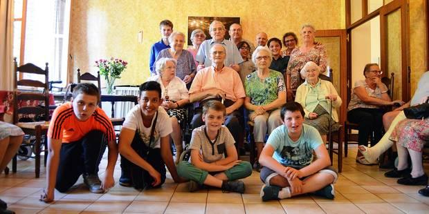 Tournai : Zoom sur une amitié sans limite d'âge - La DH
