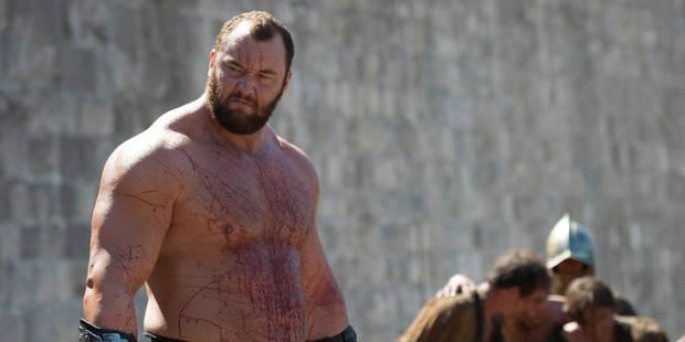 La Montagne de Games of Thrones sera au Summerfestival d'Anvers - La DH