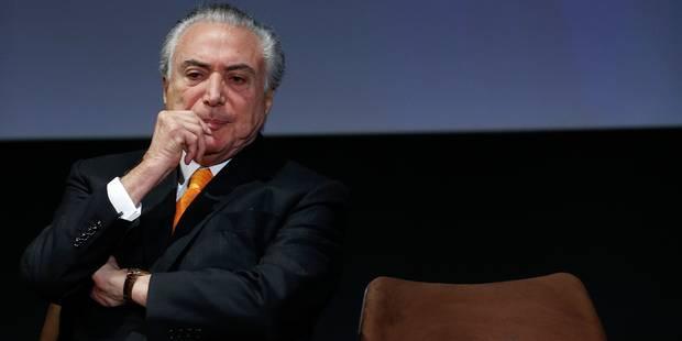 """Brésil: Le président Temer accusé de commander la """"plus dangereuse organisation criminelle du pays"""" - La DH"""