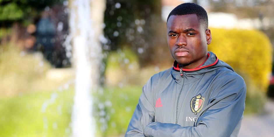 Photos Bernard Demoulin: Foot Belgique U21. Nany Dimata