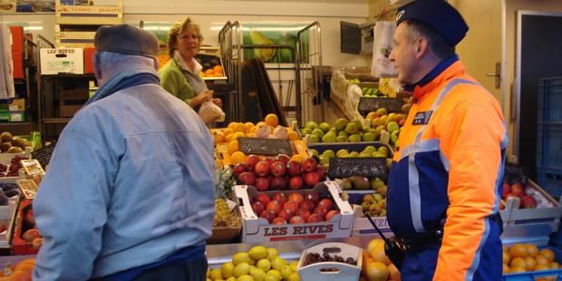 Opération de police sur le marché de Tertre - La DH