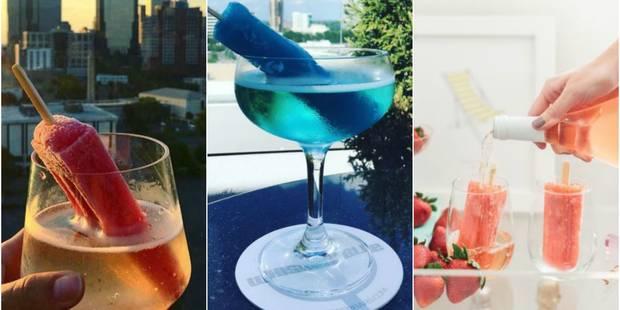 Le poptail : le délice glacé qui change des cocktails - La DH