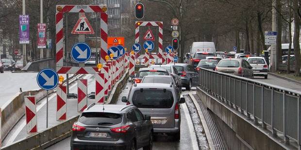 Chaos sur les routes bruxelloises: voici les lieux et les dates des chantiers en cours et à venir - La DH