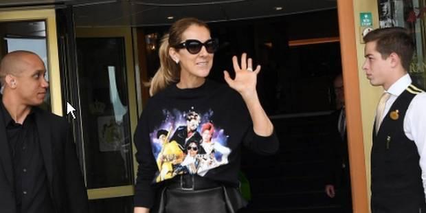 Céline Dion porte une création des Liégeoises Filles à Papa - La DH