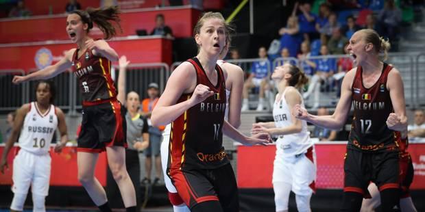 Euro de basket féminin: la Belgique bat la Lettonie et se qualifie pour les quarts de finale - La DH