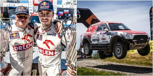 Tom Colsoul vainqueur de la Baja Italia avec Przygonski - La DH