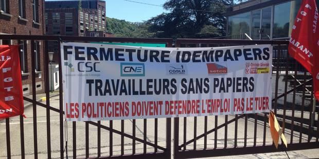 Ittre : une cinquantaine de travailleurs réengagés sous statut d'intérimaire chez Idem Papers - La DH