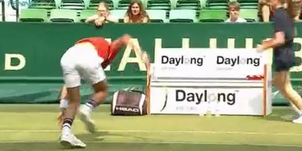 Benoit Paire explose (encore) sa raquette ! (VIDEO) - La DH