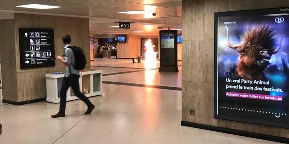 L'homme derrière le cliché de l'explosion à la gare Centrale