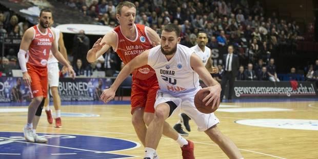 Euromillions Basket League: champion en titre, Ostende s'offre l'Américain Chase Fieler - La DH