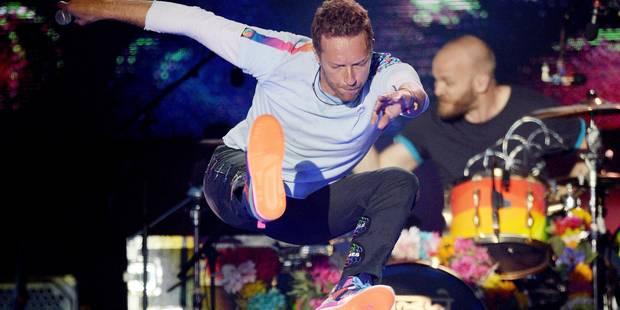 Coldplay au stade roi Baudouin: Alors on danse... - La DH