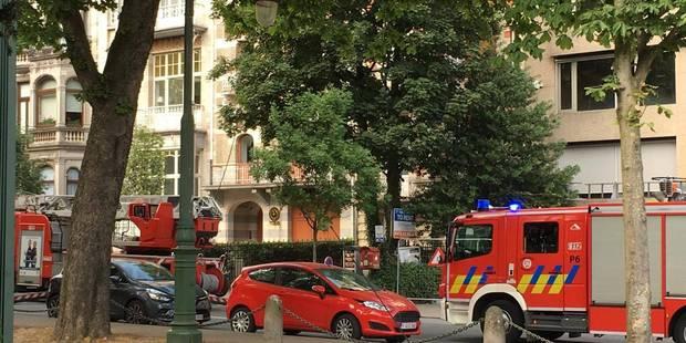 Bruxelles: incendie en face du Cinquantenaire (VIDEO) - La DH