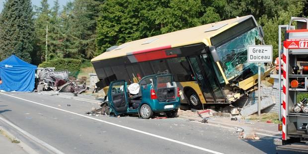 Accident mortel en 2013 à Grez-Doiceau : le chauffeur des Tec condamné - La DH
