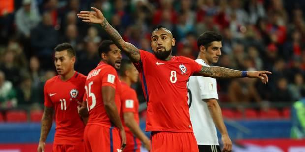 Coupe des Confédérations: l'Allemagne et le Chili se neutralisent (1-1) - La DH