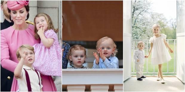 George, Estelle, les jumeaux, ... Le plein de photos estivales du côté des petits princes - La DH