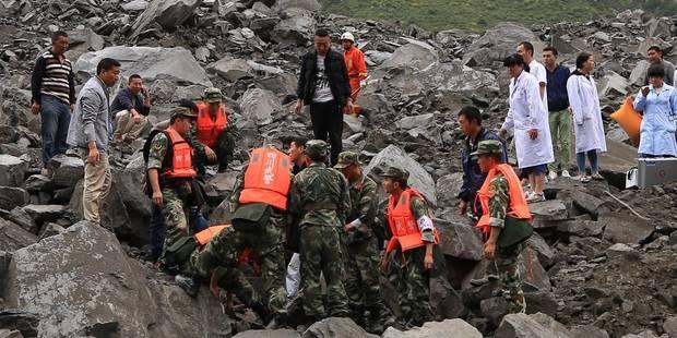 Chine: plus de 100 disparus, 6 corps déjà retrouvés après un glissement de terrain - La DH