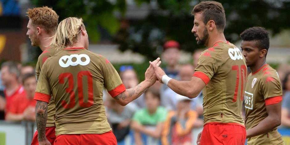 Le Standard s'est bien remis en jambes face à Aywaille (4-0)