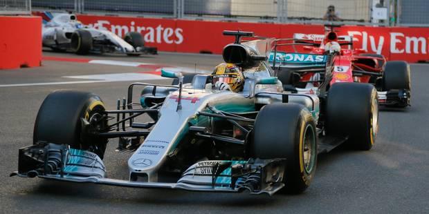 GP d'Azerbaïdjan: Ça a chauffé entre Vettel et Hamilton! (VIDEO) - La DH