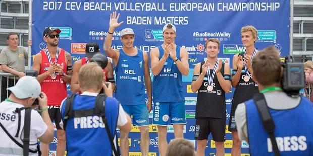 Beach-volley: victoire historique de Koekelkoren-van Walle - La DH