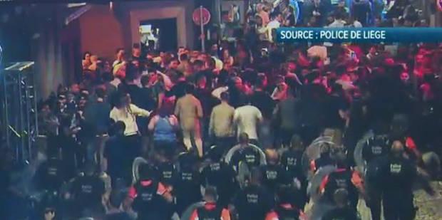 Nuit d'émeute dans le Carré à Liège: 5 mandats d'arrêt - La DH