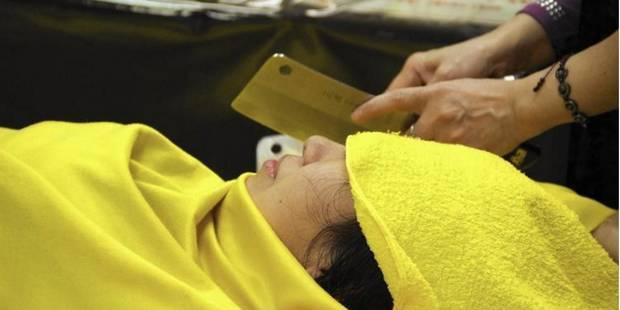 A Taiwan, on se fait masser... avec des hachoirs (VIDEO) - La DH