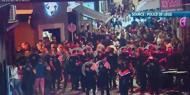 Émeute dans le Carré de Liège: l'idée du couvre-feu a peu de chance de passer - La DH