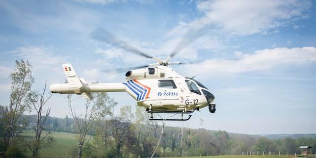 Wavre : un hélicoptère de la police fédérale a survolé le Bois de la Pierre - La DH