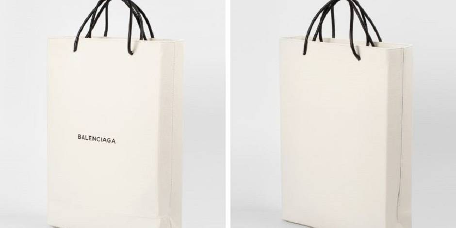 """Balenciaga lance son """"sac de shopping""""... à 984 euros !"""