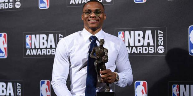 NBA: Russell Westbrook élu MVP de la saison (VIDEOS) - La DH