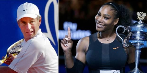 La réponse de Serena Williams au commentaire sexiste de John McEnroe - La DH
