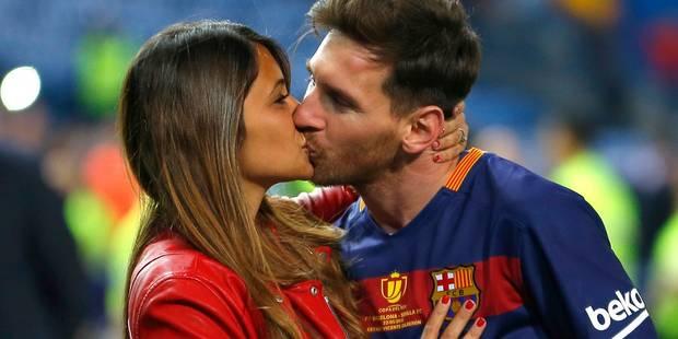 Messi épouse la discrète Antonella, son amour d'adolescence - La DH