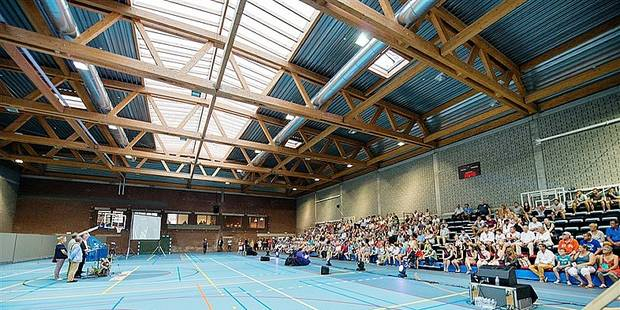 Leuze : Le temple sportif de LeuzArena va encore s'agrandir - La DH
