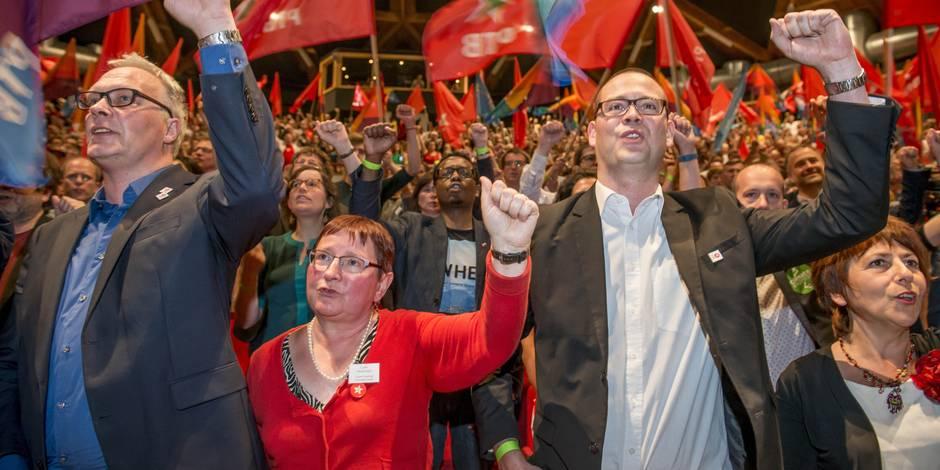 Sondage: le PTB premier parti de Wallonie si l'on votait aujourd'hui, chute vertigineuse pour le PS