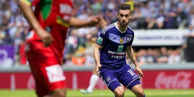 Massimo Bruno prêté une année de plus à Anderlecht - La DH