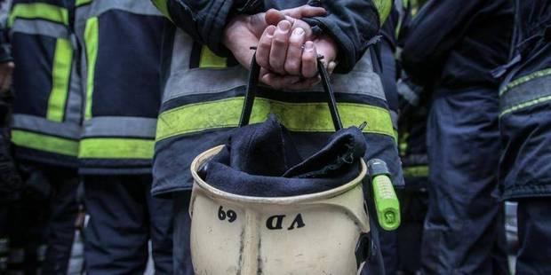 Longue nuit pour les pompiers de Mons - La DH