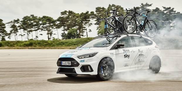 Le team Sky en drift à Liège ? - La DH